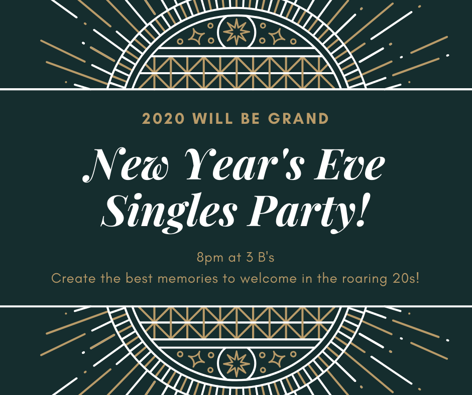 New years eve singles party