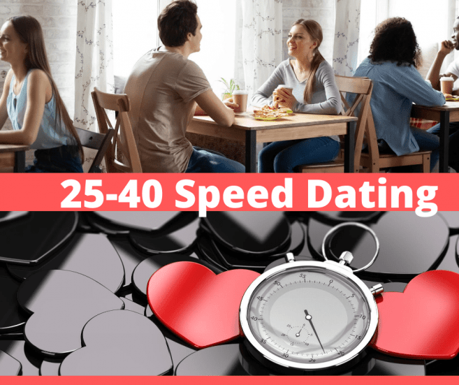 25-40 Speed Dating