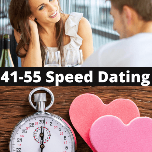 41-55 Speed Dating